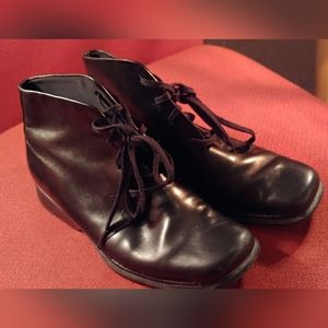 Rockport Womens Sz US6.5 Black Leather Ankle Boots